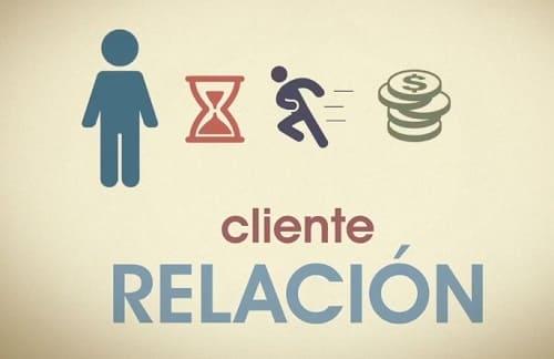 Emprendedores relación con clientes